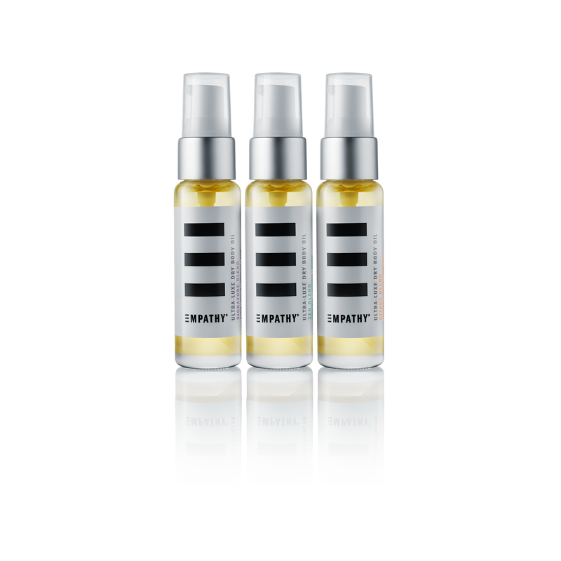 Ultra-Luxe Dry Body Oils (Pack of Three - Travel Size)