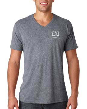 Next Level Men's Triblend V-Neck T-Shirt - OrthoIndy