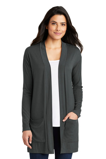Port Authority ® Ladies Concept Long Pocket Cardigan - OrthoIndy