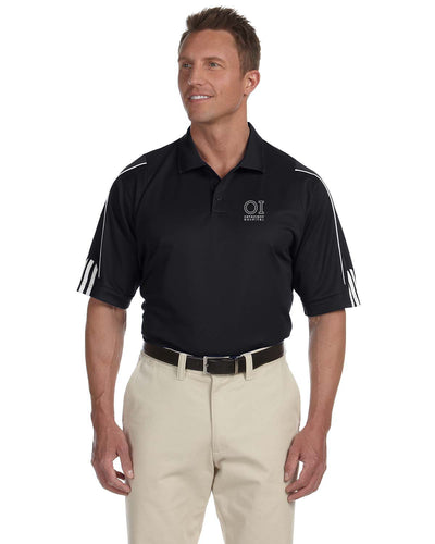 Adidas - Men's ClimaLite 3-Stripes Cuff Piqu Polo - OrthoIndy