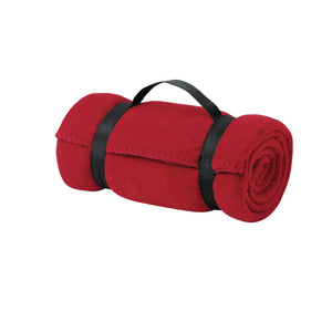 Port & Company® - Value Fleece Blanket with Strap - OrthoIndy