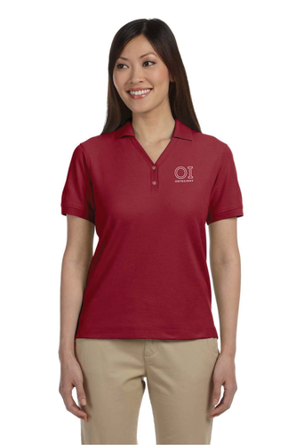 Ladies' Pima Piqu Short Sleeve Y Collar Polo - OrthoIndy