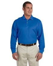 Load image into Gallery viewer, Mens Pima Piqu Cotton Long Sleeve Polo - OrthoIndy