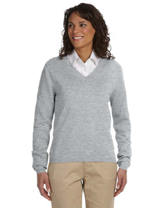Ladies' V Neck Light Weight Sweater - OrthoIndy