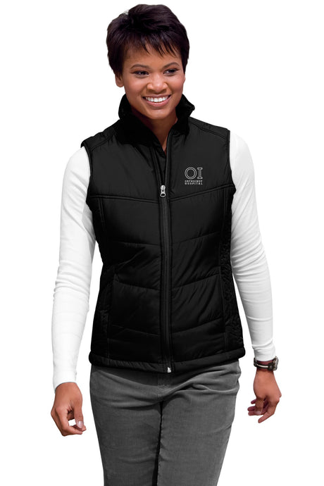 Port Authority® - Ladies Polyester Puffy Vest - OrthoIndy