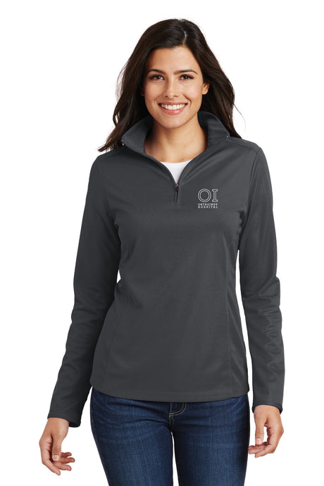 Port Authority® - Ladies Pinpoint Mesh 1/2-Zip - OrthoIndy
