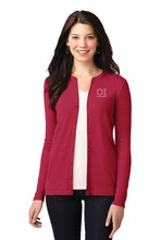 Load image into Gallery viewer, Port Authority® Ladies Concept Stretch Button-Front Cardigan - OrthoIndy
