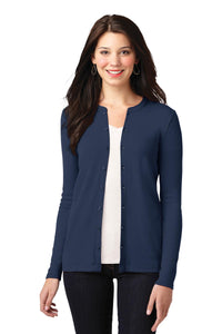 Port Authority® Ladies Concept Stretch Button-Front Cardigan - OrthoIndy
