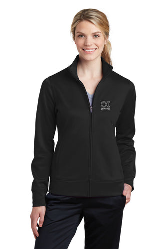 Sport-Tek® - Ladies Sport-Wick Fleece Full-Zip Jacket