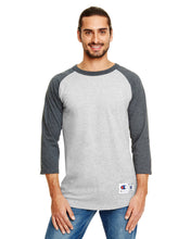Load image into Gallery viewer, Champion Adult 5.2 oz. Raglan T-Shirt