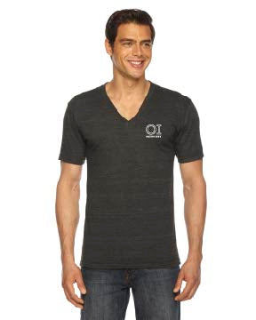 American Apparel Unisex Triblend Short-Sleeve V-Neck - OrthoIndy