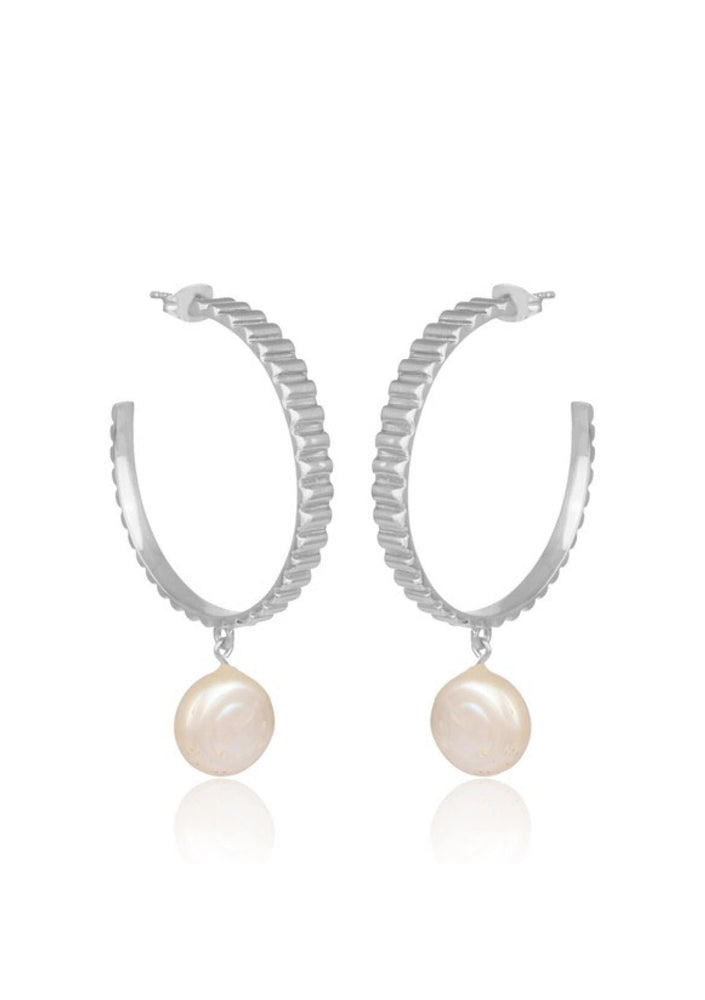 Load image into Gallery viewer, pearl wedding earrings