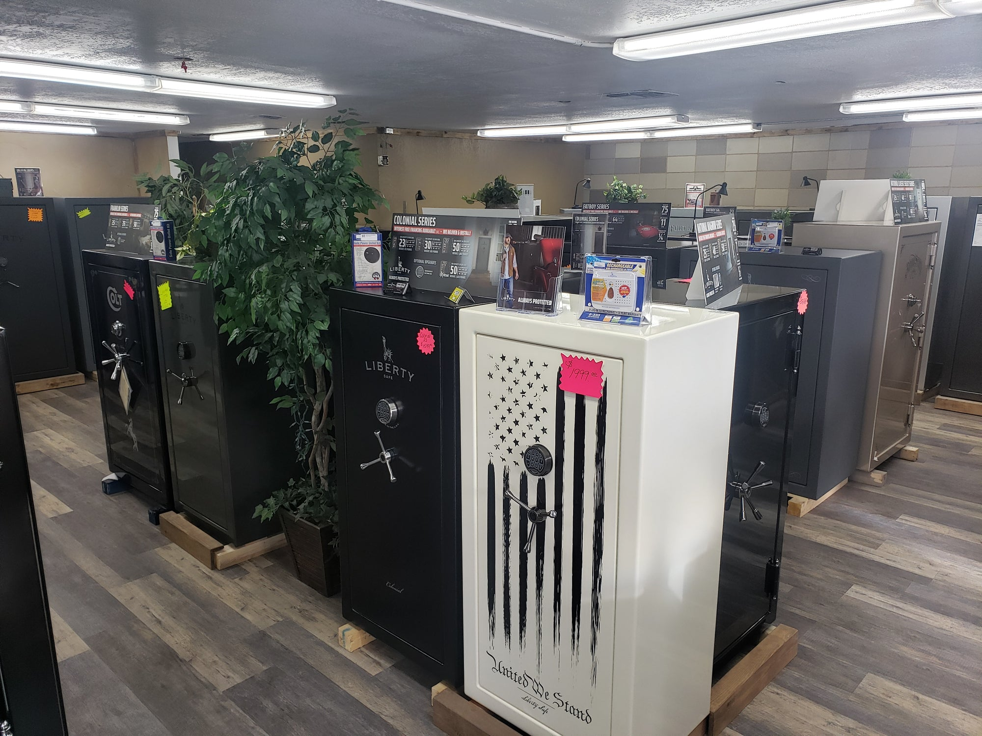 Liberty safes of reno showroom image