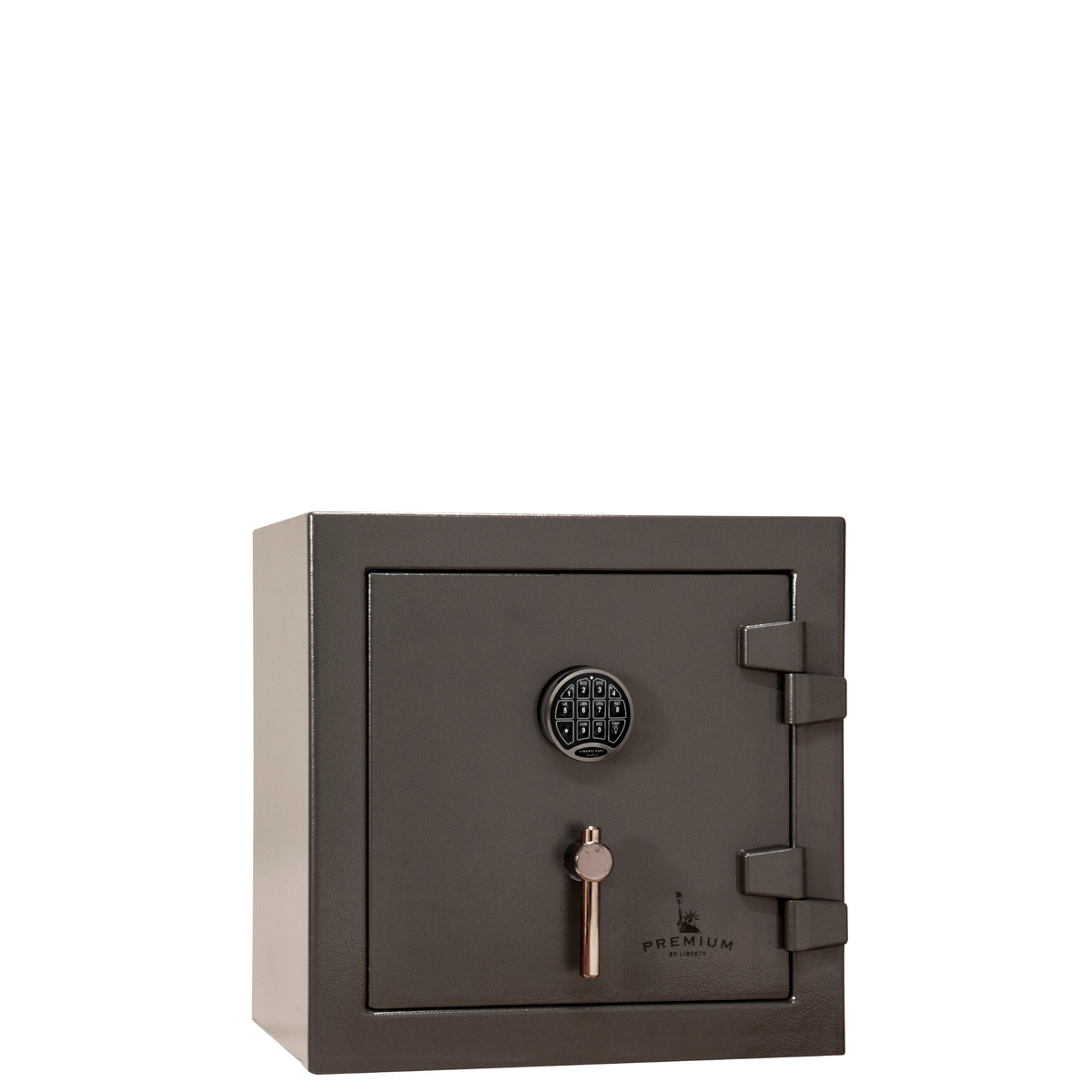 "Premium Home | 05 | 90 Minute Fire Protection | Gray | Electronic Lock | Dimensions: 24""(H) x 24""(W) x 22.5""(D)"