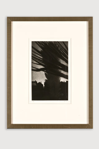 Rooftops, Lakeside Mezzotint <br/>by Robert Kipniss