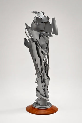 Coalescence Sculpture (Silver) <br/> by Albert Paley