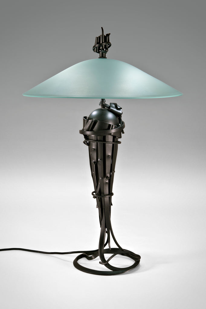 Comet Lamp by Albert Paley sold by the modern archive