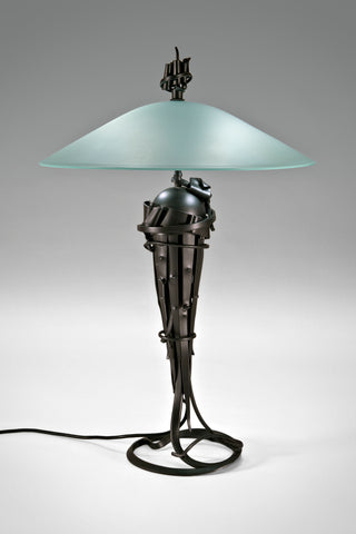 Comet Table Lamp <br/>by Albert Paley