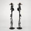 Scepter Candle Holders (Limited Edition) by Albert Paley