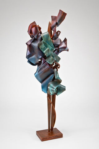 Solemnity's Prologue Sculpture <br/>by Albert Paley