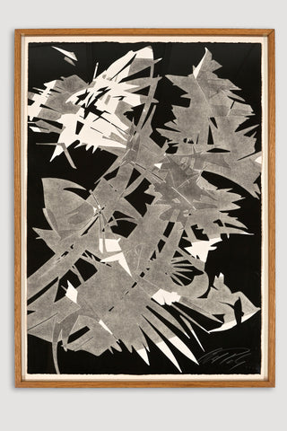San José Series #9 Monoprint <br/>by Albert Paley