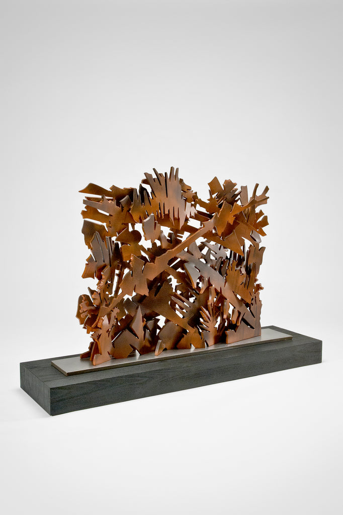 Interlace Sculpture by Albert Paley sold by the modern archive