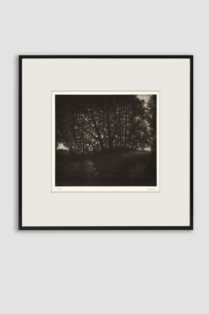 Summer's Eve Mezzotint by Robert Kipniss sold by the modern archive