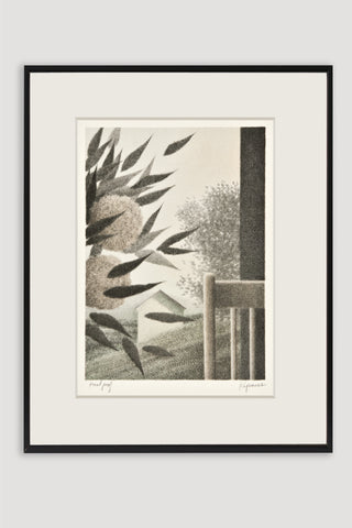 Leaning Flowers Lithograph <br/> by Robert Kipniss