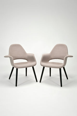 Pair of Organic Armchairs <br />by Charles Eames and Eero Saarinen for Vitra