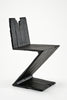 "Zig Zag Chair from ""Where There's Smoke..."" by Maarten Baas sold by the modern archive"