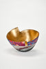 Hand-Painted and Gilded Vessel (#1928)<br/> by Bennett Bean