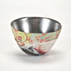 Hand-Painted Vessel with Silver Leaf by Bennett Bean sold by the modern archive