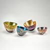Hand-painted and gilded vessels by Bennett Bean sold by the modern archive