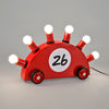 Superrari Lamp by Martine Bedin for Memphis sold by the modern archive