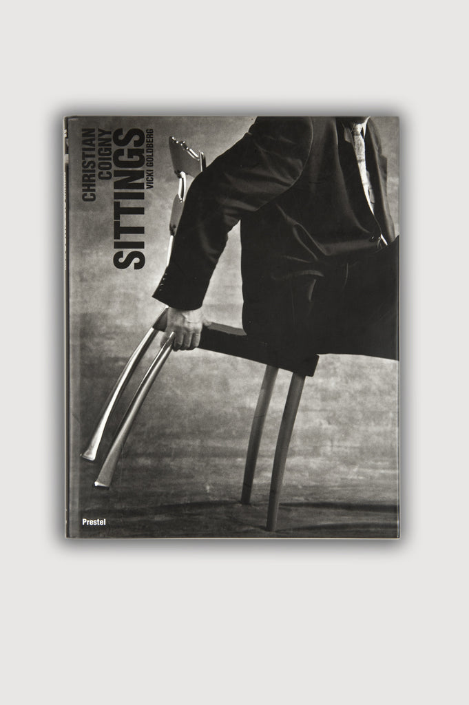 Sittings by Vicki Goldberg with Christian Coigny photography book sold by the modern archive