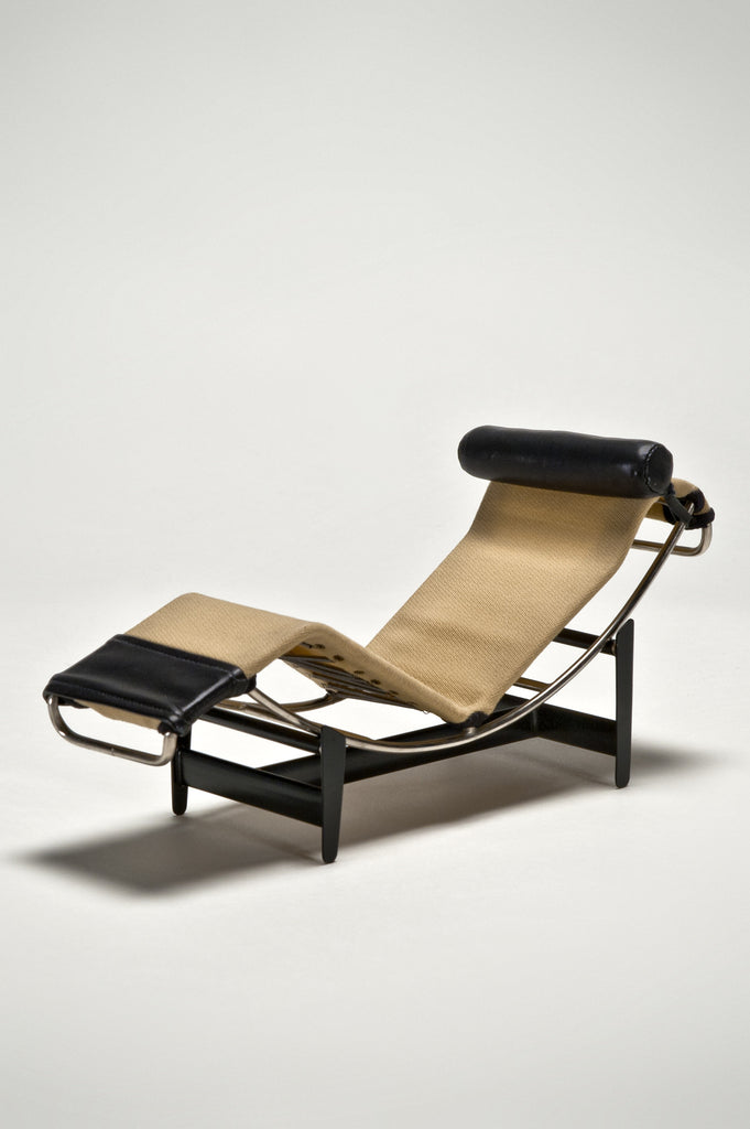 Chaise Lounge (Prototype & 1:6 Scale Miniature) by LeCorbusier/Jeannert/Perriand