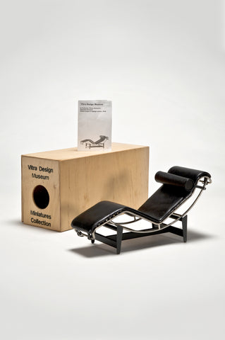 Chaise Lounge (1:6 Scale Miniature) <br/>by LeCorbusier/Jeannert/Perriand