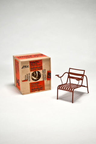 Thinking Man's Chair (1:6 Scale Miniature - Prototype) by Jasper Morrison