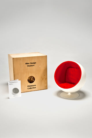 Ball Chair (1:6 Scale Miniature) <br/> by Eero Aarnio