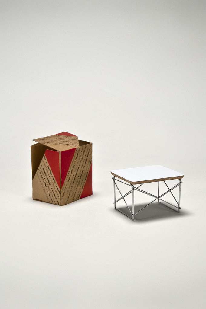 Eames Wire Base Low Table (1:6 Scale Miniature) by Eames