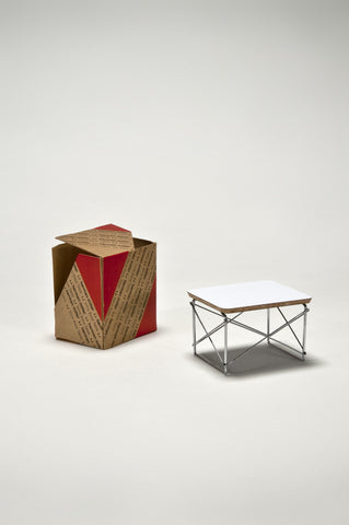 Wire Base Low Table (1:6 Scale Miniature) <br/> by Charles and Ray Eames
