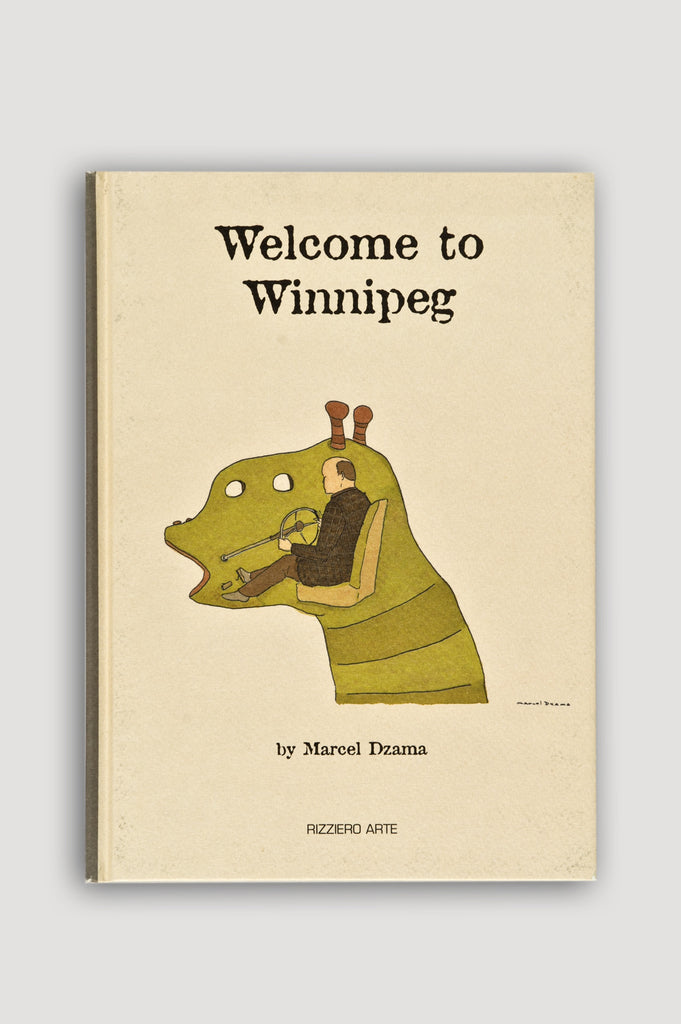 Welcome to Winnipeg by Marcel Dzama sold by the modern archive