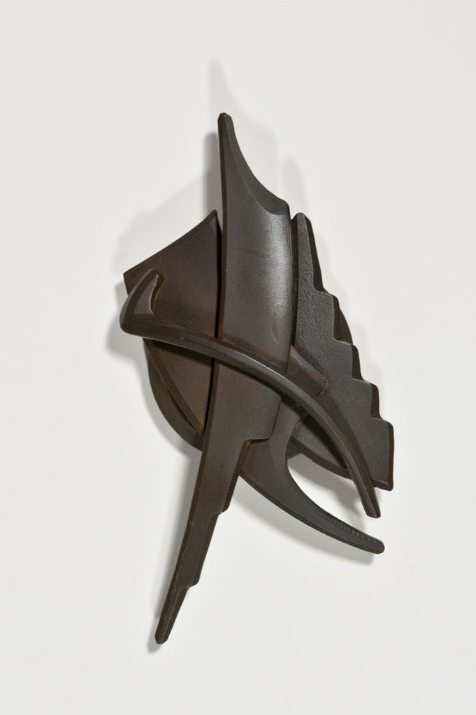 Medallion Paperweight by Albert Paley