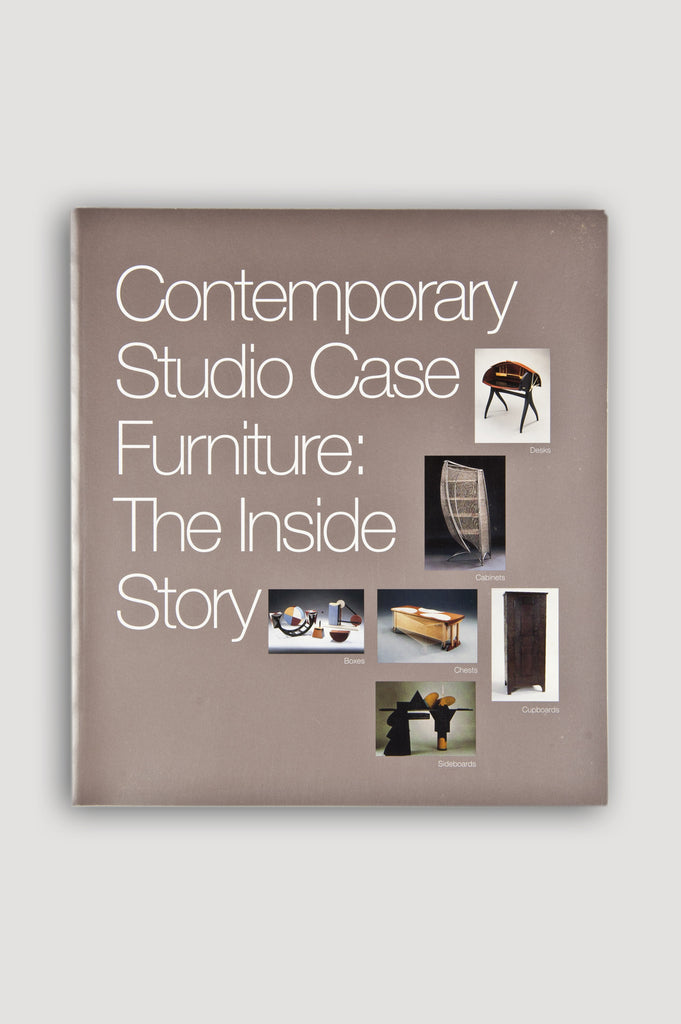 Contemporary Studio Case Furniture: The Inside Story catalogue for sale by the modern archive