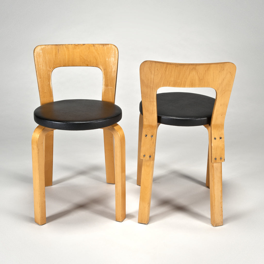 Chairs 65 (Set of 2) by Alvar Aalto from Artek 2nd Cycle : artek chairs - Cheerinfomania.Com