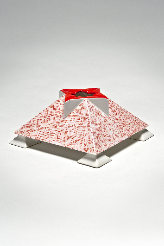 Api Ashtray by Matteo Thun for Memphis sold by the modern archive