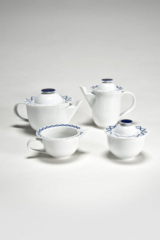 La Bella Tavola and My Beautiful China Coffee and Tea Set <br/> by Ettore Sottsass for Alessi