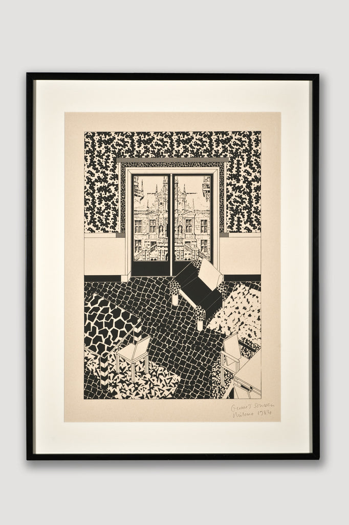 Interior 1 (Limited Edition Silkscreen) by George Sowden for sale by the modern archive