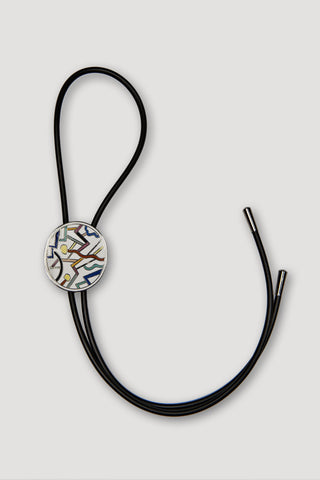 Circulus Bolo Tie <br/> by Ettore Sottsass