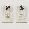 Esmeralda Earrings by Marco Zanini for Acme Studio sold by the modern archive